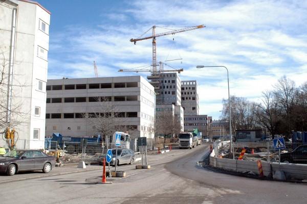 Arenanområdet 2011-03-22